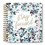 2020 Stay Focused, 12 Month Daily Planners/Calendars: Tri-Coastal Design Planners with Monthly, Weekly and Daily Views - Personal Planner Notebook for Work or Home