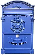 ZZYE Postbus aan de muur gemonteerde postvakken, postbakken buiten, mailboxen voor buitenmontage van de buitenmontage Verg...