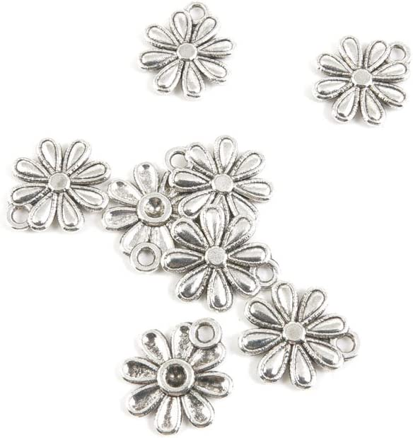 store 950 Pieces Antique Silver Tone Louisville-Jefferson County Mall Fa Jewelry Making Findings Charms