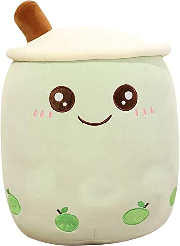 2021 Milk Tea Cup Plushie Soft Boba Bubble Tea Soft Doll Stuffed Tea high quality high quality Cup Pillow Gift Toys Cartoon Bubble Tea Cup with Suction Tubes Hug Pillow Cushion outlet sale