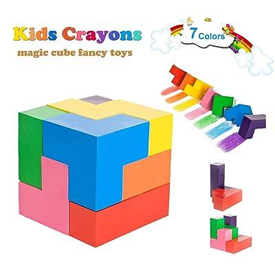 MBYHAN Toddler Crayons, 7 Colors Paint Crayons ...