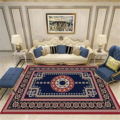 WQ-BBB Alfombra Higroscópico Super Lujoso Habitación La Alfombrae Decoración Tradicional Alfombra Exterior Rojo Azul Negro marrón Decorativa Moqueta 40X120cm