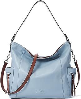 Genuine Leather Hobo Handbags Designer Shoulder Tote Purses Crossbody Large Bag for Women