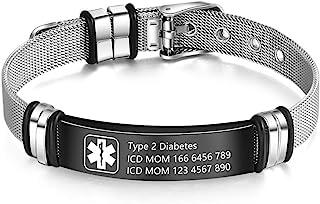 دستبند هشدار طبی وندی برای مردان