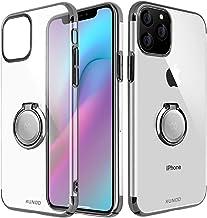 AICase XUNDD Funda para iPhone 11 Pro,Carcasa de Cristal con Soporte magnético de 360 Grados,Soporte para Coche con imán para Apple iPhone 11 Pro (Negro)