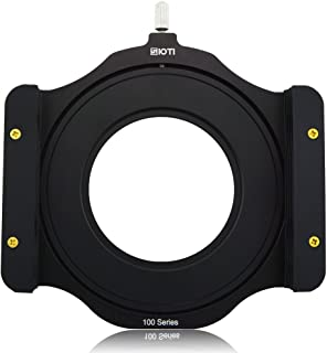 SIOTI 100mm Square Z Series Aluminum Modular Filter Holder + 58mm-62mm Aluminum Adapter Ring for Lee Hitech Singh-Ray Cokin Z PRO 4X4 4x5 4X5.65 Filter(58mm)