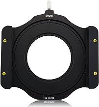 SIOTI Soporte de Filtro Modular de Metal de la Serie Square Z de 100 mm + Anillo Adaptador de Metal para Lee Hitech Singh-Ray Cokin Z Pro 4X4 4x5 4X5.65 Filtro(58mm)