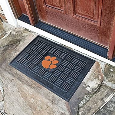 Fan Gear Fanmats Clemson University Medallion Door Mat Size=19 x30  NCAA-11353