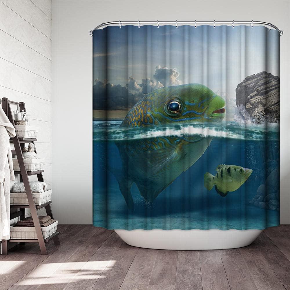 Scltid Duschvorhang Antischimmel Waschbar 120X200 cm Polyester Duschvorhang 120 X 200 Kunst//Gepard Und Zebra Mit 12 Duschvorhang Ringe