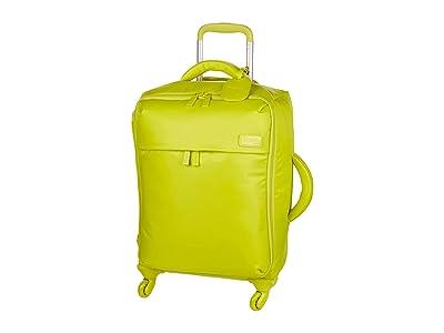 Lipault Paris Original Plume 22 Spinner Carry On (Flash Lemon) Carry on Luggage