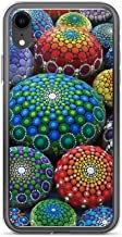 iPhone XR Pure Clear Case Cases Cover Jewel Drop Mandala Stone Collection #1