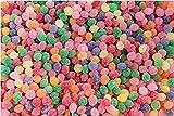 Caramelos Gota de Lágrima La Asturiana - Pequeñas grageas artesanas, en forma de perla o gota, de diversos sabores, sin gluten, bolsa de 1 kilo