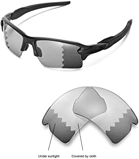 Walleva Replacement Lenses for Oakley Flak 2.0 XL Sunglasses - 26 Options Available