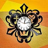 Kingdom Hearts Vinilo Record Clock Videojuego hecho a mano Reloj...