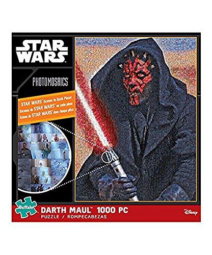 Darth Maul 1000 pc Star Wars Photomosaics Puzzle