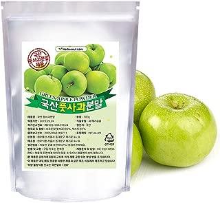 [Jeongwoodang]Premium Korean Green Apple Extract Powder 7Oz/Designed for Polyphenol Diet/Apple Diet/Weight Loss