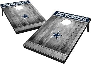 Wild Sports 2'x3' MDF Wood NFL Cornhole Set - Grey Wood Design