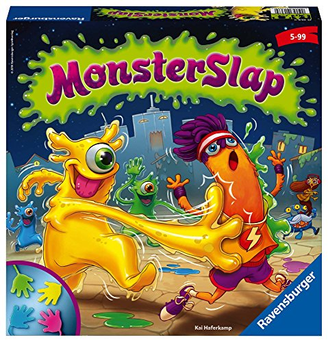 Ravensburger- Monster Slap Gioco di società, Multicolore, 21368