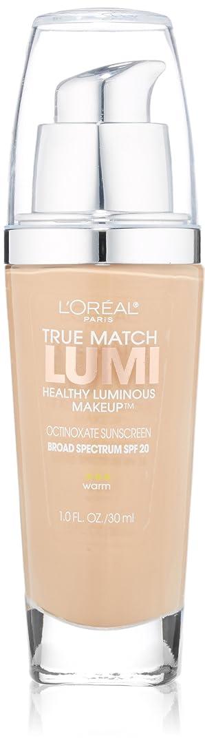 君主ブランド名マトンL'OREAL TRUE MATCH LUMI HEALTHY LUMINOUS MAKEUP #W3 WARM NUDE BEIGE