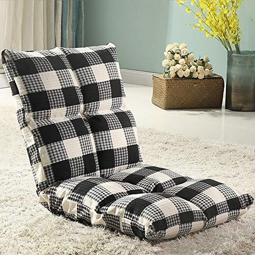 AiHerb.LO JL HX Japonais Canapé Paresseux Tatami Pliable Simple Petit Canapé-lit Chaise D'ordinateur Dortoir Baie Fenêtre Chaise A+ (Couleur : A)