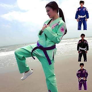 green karate suit