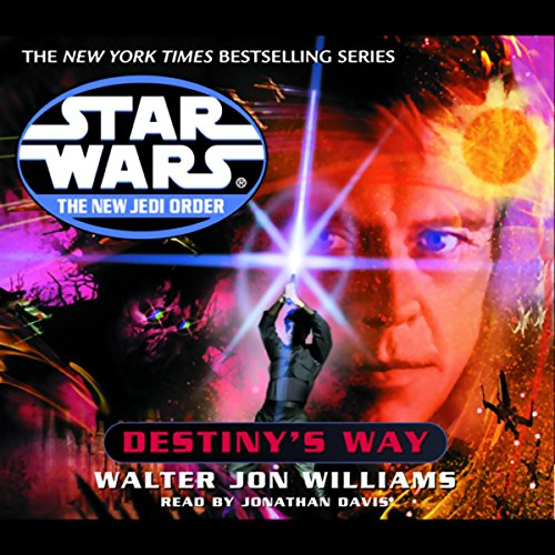 Star Wars: The New Jedi Order: Destiny's Way audiobook cover art