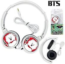 Christ For Givek Kpop BTS Bangtan Boys Auriculares Auriculares Estéreo Auriculares(H16)