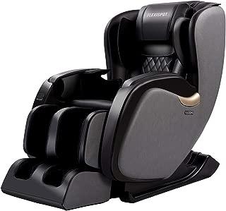 FlexiSpot Zero Gravity Massage Chair Full Body Recliner with Shiatsu Massage Heat, Lower Back Heat Therapy, Foot Rollers, L-Track Design