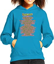 The Fresh Prince of Bel Air Lyrics Kid's Hooded Sweatshirt