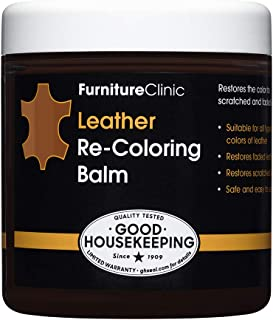 Furniture Clinic Leather Recoloring Balm – Leather Color Restorer for Furniture,..