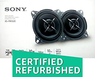 (Renewed) Sony XS-FB102E Mega Bass 4-inch Speakers (Black)