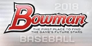 2018 bowman baseball blaster box