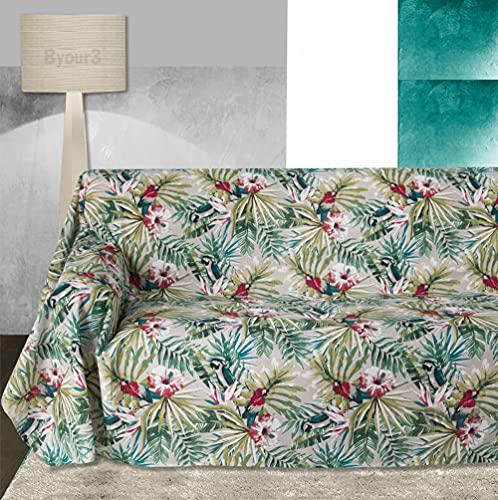 Byour3® Funda para sofá de 3 y 4 y 5 plazas, de algodón,