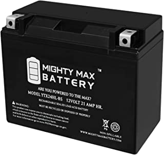 Mighty Max Battery YTX24HL-BS Replaces Yamaha Virago XV 920,1000,1100 XVZ Venture Royale Brand Product