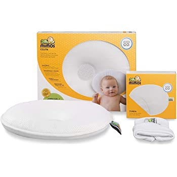 BABY TODDLER SAFETY MEMORY FOAM HEAD SHAPE PILLOW BRAND NEW BOXED OMMIT FLAT HEA
