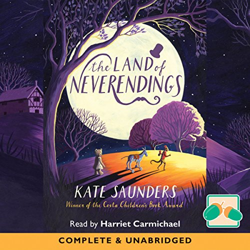 The Land of Neverendings audiobook cover art
