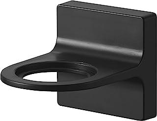 山崎実業(Yamazaki) フィルムフック ディスペンサーホルダー 泡タイプ ブラック 約W7.3XD9.5XH7cm タワー 浮かせて収納 簡単取付 5348