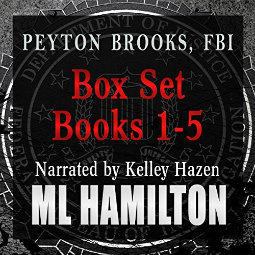 The Peyton Brooks, FBI Box Set, Volume One audiobook cover art
