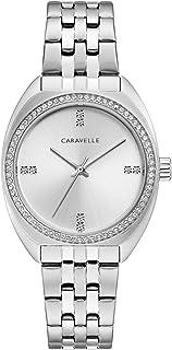 Caravelle Women's Stainless Steel Crystal Bracelet Watch - 43L214