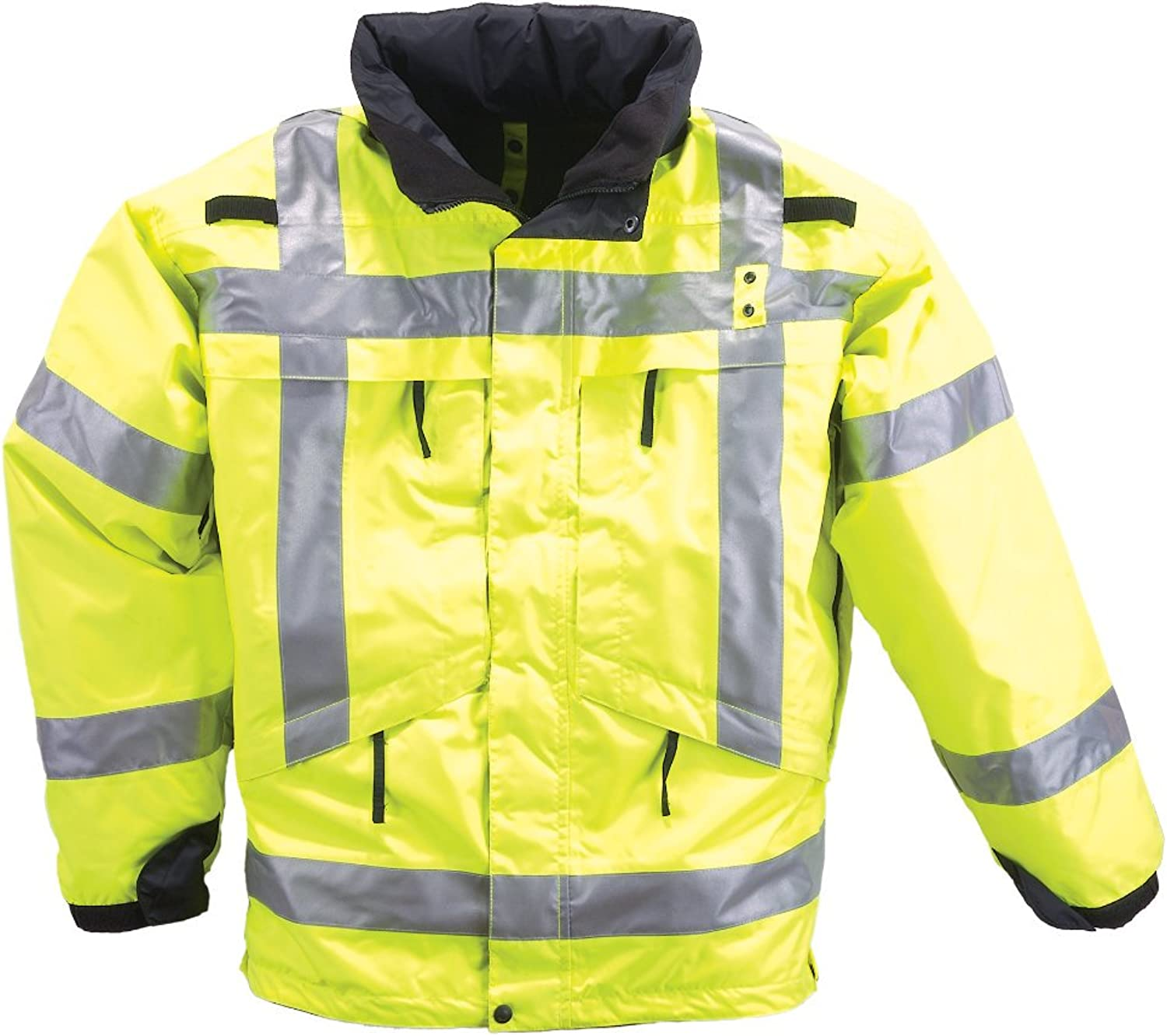 5.11 Tactical  48033 3in1 High Visibility Reflective Parka (Reflective Yellow)