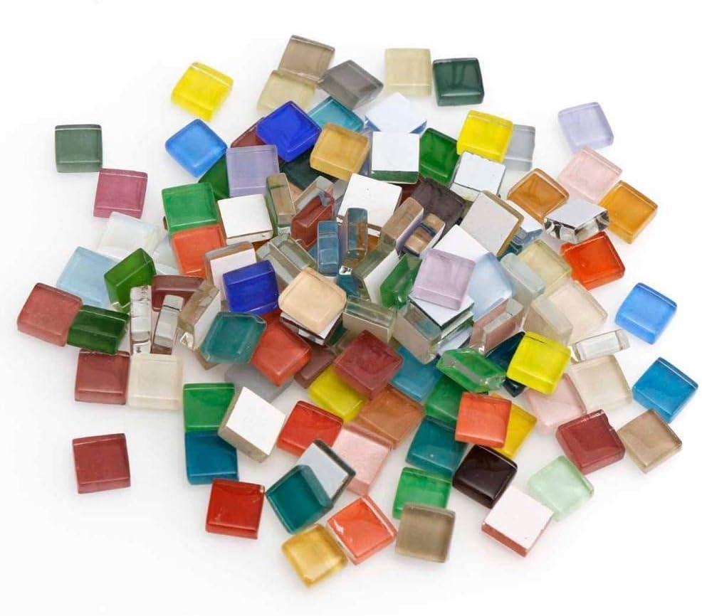 YuShiLiu Geometric Figures Mini Cheap Crystal Cheap SALE Start Glass Tiles Child Mosaic