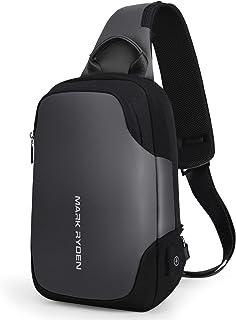 3af92b1c2c7d Mark Ryden Anti-theft Sling Chest Bag Handbag for Men Waterproof Crossbody  Travel Shoulder Bag