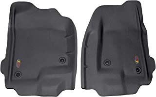 Lund 400601 Catch-All Xtreme Black Front Floor Mat - Set of 2
