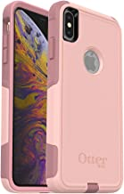 OtterBox COMMUTER SERIES Case for iPhone Xs Max - Retail Packaging - BALLET WAY (PINK SALT/BLUSH)
