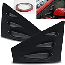ModifyStreet 15-17 Subaru WRX/STI Front Side Window Louvers - Black