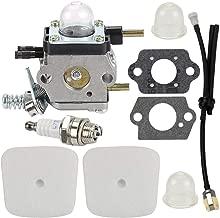 Yermax C1U-K54A C1U-K27B Carburetor Repower Kit for 2 Cycle Mantis 7222 7222E 7222M 7225 7230 7234 7240 7920 7924 Tiller Cultivator Echo TC-210