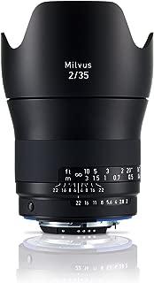 Zeiss 35mm f/2 Milvus 2/35 ZF.2 Lens for Nikon F-Mount DSLR Cameras