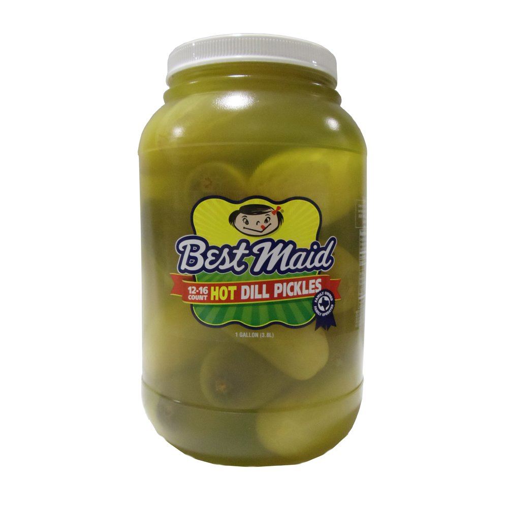 Best Maid Inexpensive Whole 5 ☆ popular Hot Pickles Dill 1gal