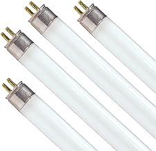 Dysmio F8T5 8-Watt 12-inch Tube Light Bulb 4000K 380 Lumen Mini Bipin Base Under Cabinet T5 Fluorescent Light Cool White L...