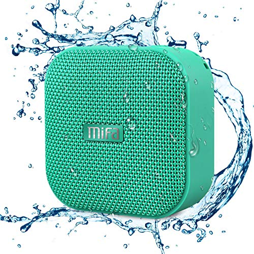 MIFA Mini Altavoz Portátil Bluetooth 4.2 Impermeable IP56 y...